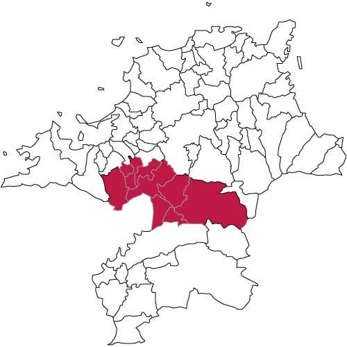 福岡県中部