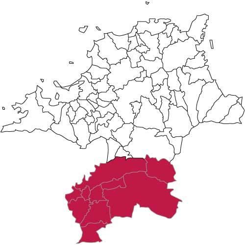 福岡県南部