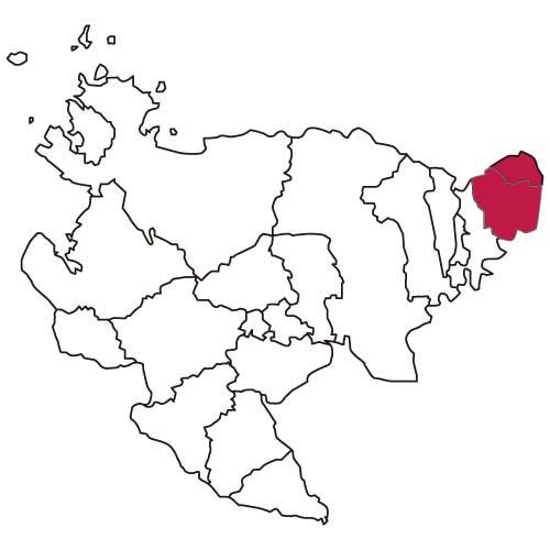 佐賀県東部